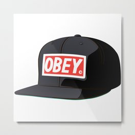 Obey IT Metal Print