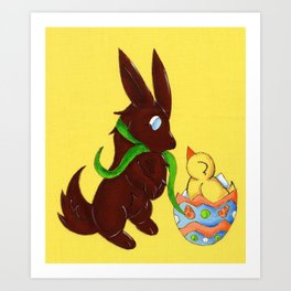 Hello, Little Fella! Art Print