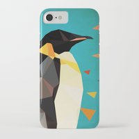 penguin iPhone & iPod Cases featuring penguin by gazonula