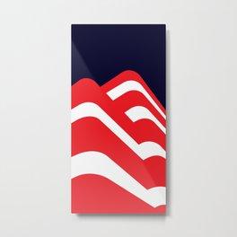 Simply Bauhaus Metal Print