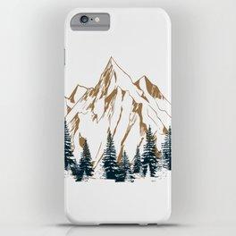 mountain # 4 iPhone Case