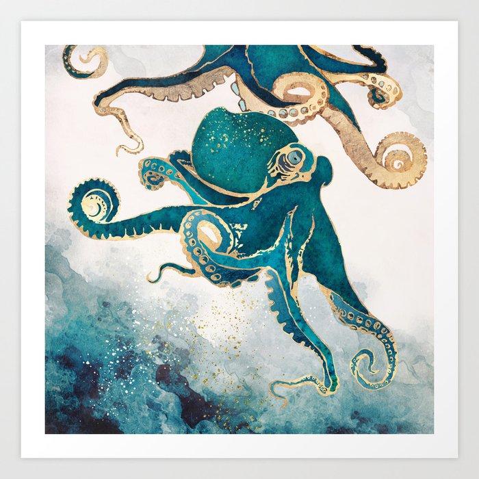 Underwater Dream V Kunstdrucke