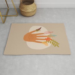 The Hand of Nature Rug