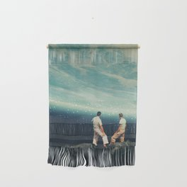 The Earth was crying and We were there Wall Hanging