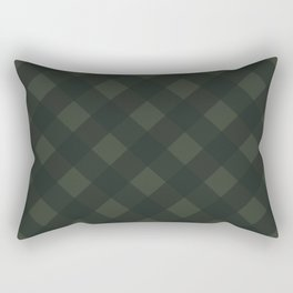 buffalo plaid green Rectangular Pillow