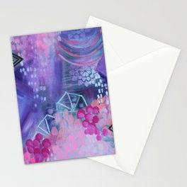 Dream in Purple Stationery Cards