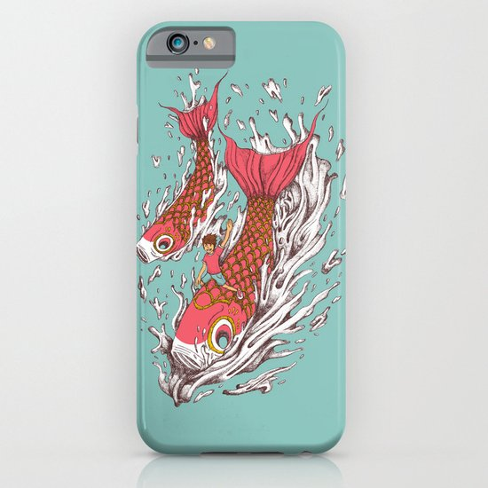 Ride with Koi iPhone & iPod Case