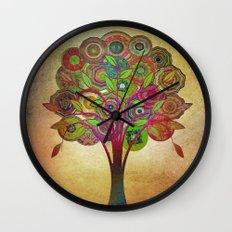 Tree of Life 2 Wall Clock