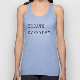 Create Everyday Unisex Tank Top