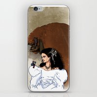 beauty and the beast iPhone & iPod Skins featuring Beauty and Beast by Adrien ADN Noterdaem