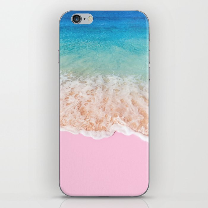 PINK SAND iPhone Skin