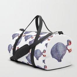 Hippopotamus Duffle Bag