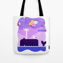 Tiny Worlds - Super Mario Bros. 2: Peach Tote Bag