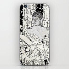 The Deer and Buddha iPhone Skin