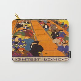 Vintage poster - Brightest London Carry-All Pouch