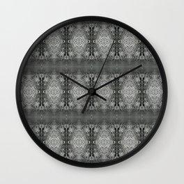 CharcolSnow Wall Clock