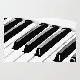 Piano (music for my ears) Rug