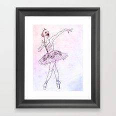 Sugar Plum Fairy Framed Art Print