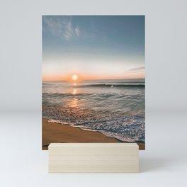 seaside sunrise Mini Art Print