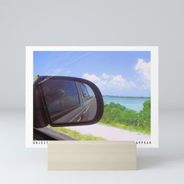 Rear View Mirror Mini Art Print