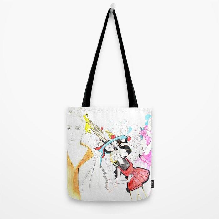 Whe love Fashion Tote Bag