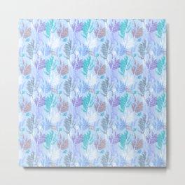 Winter mood pattern Metal Print