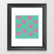 Inner Cat Framed Art Print