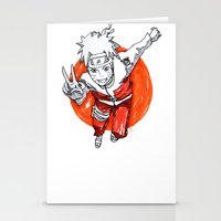 naruto Stationery Cards featuring Naruto by Jas-Sparks