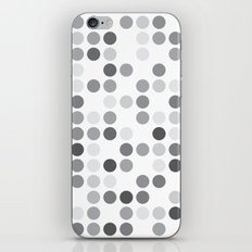 GREYS WHITE iPhone Skin