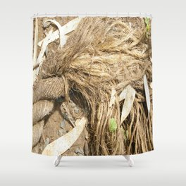 Fraying around the Edges Shower Curtain