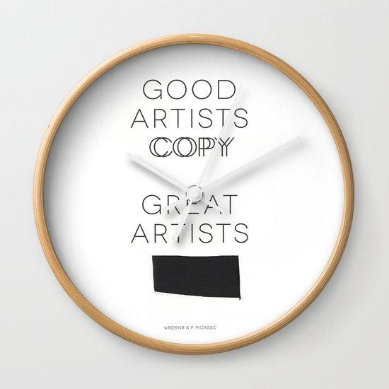 Steal Wall Clock