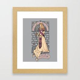 Hylian Nouveau Framed Art Print