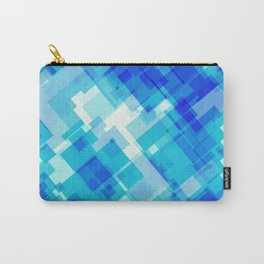 Digital Blue Pool Carry-All Pouch