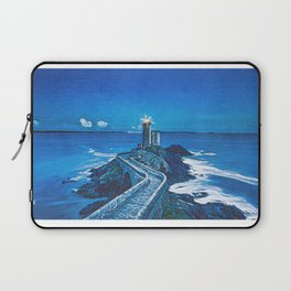 The Guiding Light Of The Petit Minou Lighthouse Laptop Sleeve