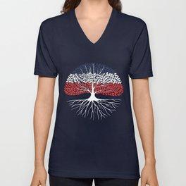 American shirt Unisex V-Neck