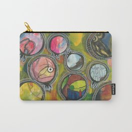 Colorful pomegranates collage 1/7 Carry-All Pouch