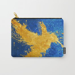 Hummingsplat Gold Carry-All Pouch