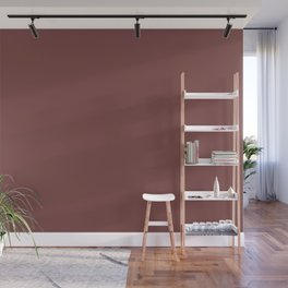Spiced Apple | Pantone Fashion Color Spring : Summer 2018 | London Solid Color Wall Mural
