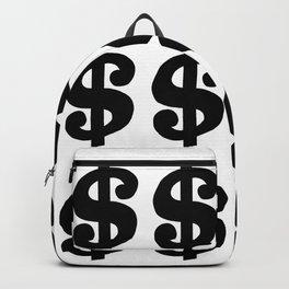 Black Dollars Backpack