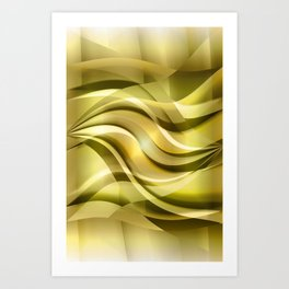 Waves 3  Art Print