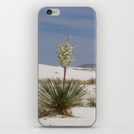 White Sands Soap Yucca iPhone Skin