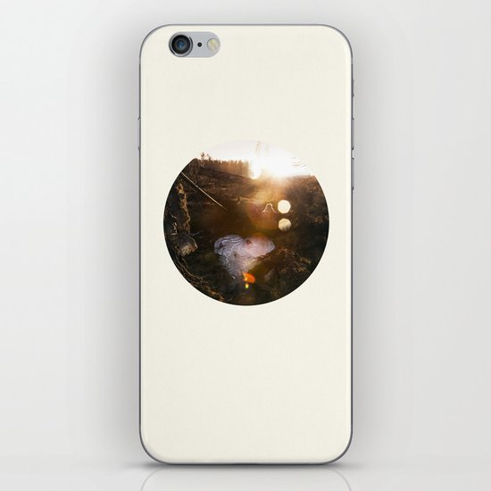 Frozen Puddle iPhone & iPod Skin