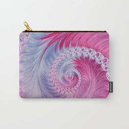Crystal Spiral Abstract Carry-All Pouch
