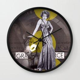 Grande Source Wall Clock