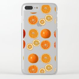 Fruit Attack Clear iPhone Case