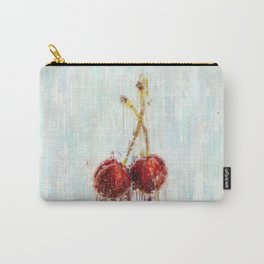 Painted Cherries Carry-All Pouch