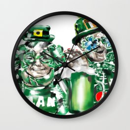 ST. PATRICK'S DAY CELEBRATION Wall Clock