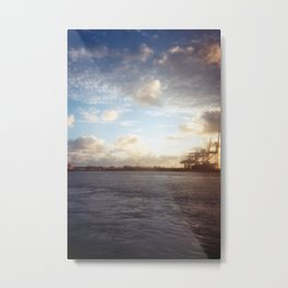 Freeport Departure Metal Print