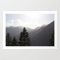 Hills of Tahoe Art Print