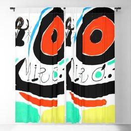 Joan Miro, Joan Miró i Catalunya, 1968 Artwork for Wall Art, Prints, Posters, Tshirts, Men, Women, Youth Blackout Curtain